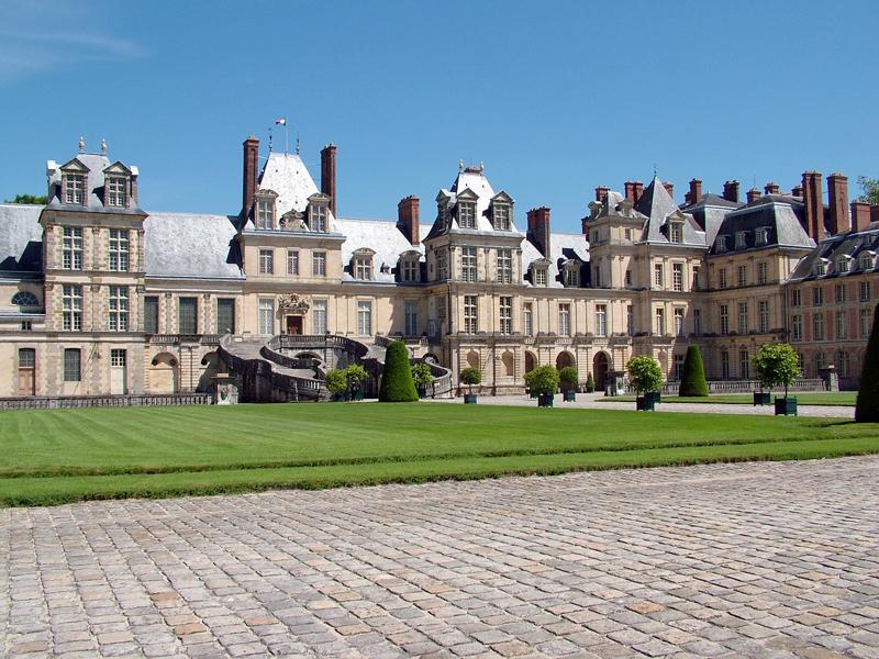 Le Château, Fontainebleau au coulis de fruits rouges