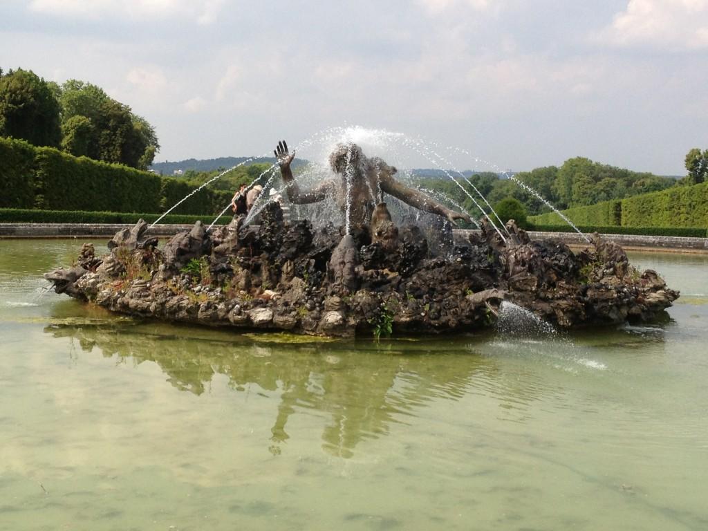 Fontaine du Château de Champs-sur-Marne
