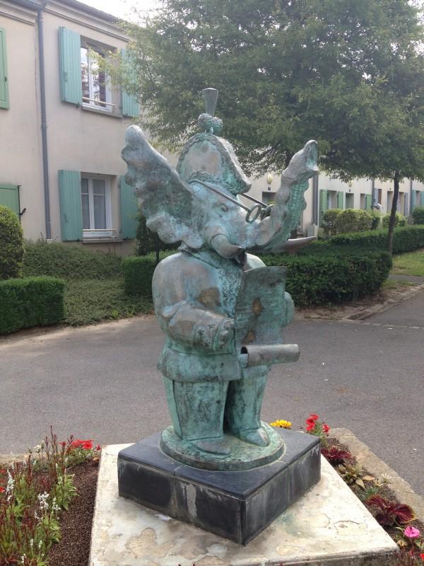 La statue Cornélius