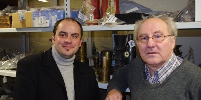 Michel Rouger (à droite), Jean-Pierre Verney (à gauche)