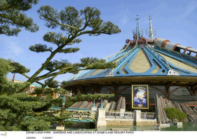 La végétation à Disneyland Paris