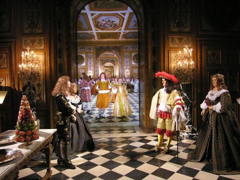 Exposition Nicolas Fouquet, scène de bal
