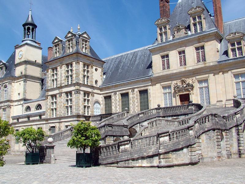 Escalier du Château de Fontainebleau