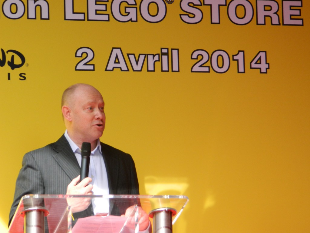 Ward Van Duffel (Vice Président et General Manager Lego Europe)