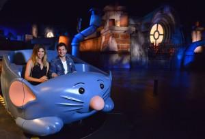 Les célébrités inaugurent Ratatouille ©Disneyland Paris