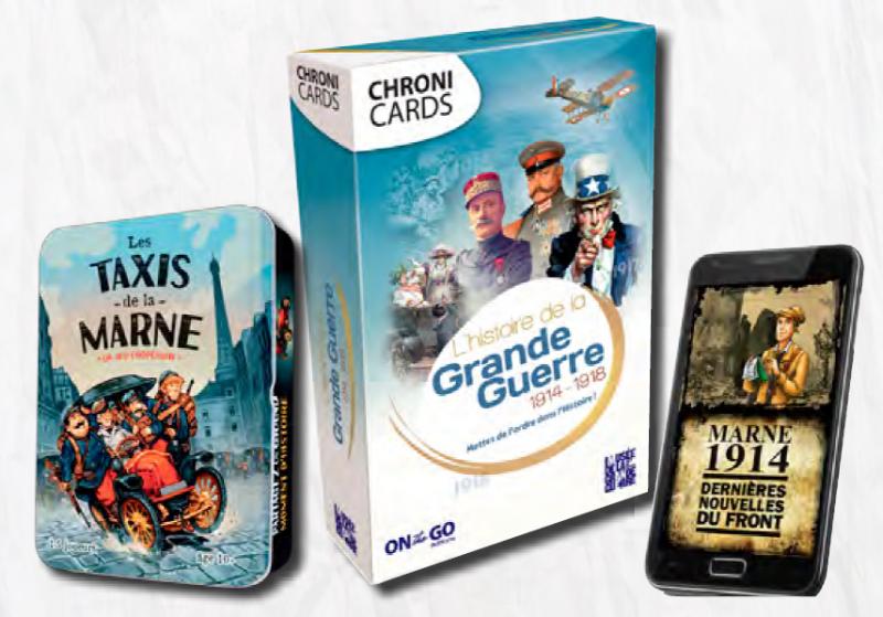 Trois jeux avec le Musée de la Grande Guerre