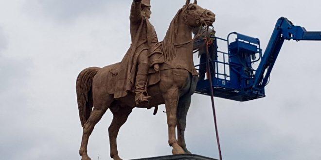 Rénovation de la statue Napoléon