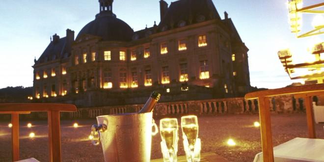 Soirées aux chandelles et champagne à Vaux-le-Vicomte