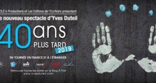40 ans plus tard Yves Duteil